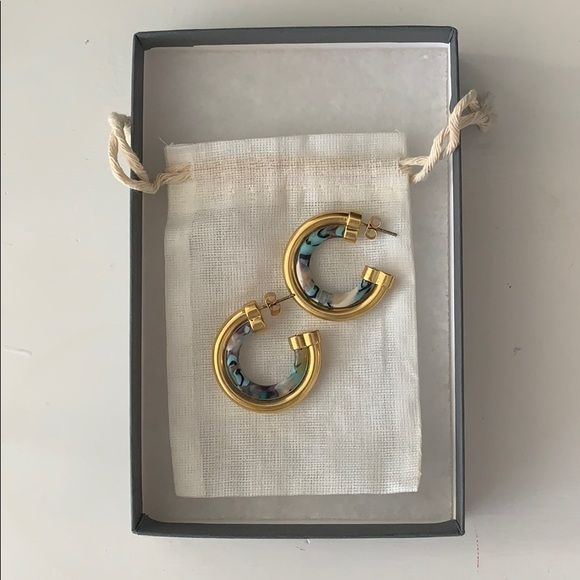 BP Gold Plated Hoops